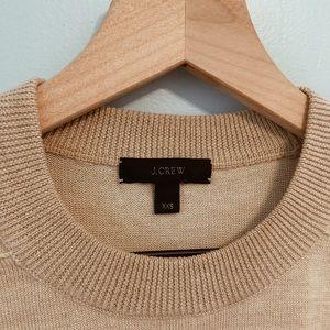 J. Crew Sweaters - J. Crew Wool Crewneck Sweater Beige